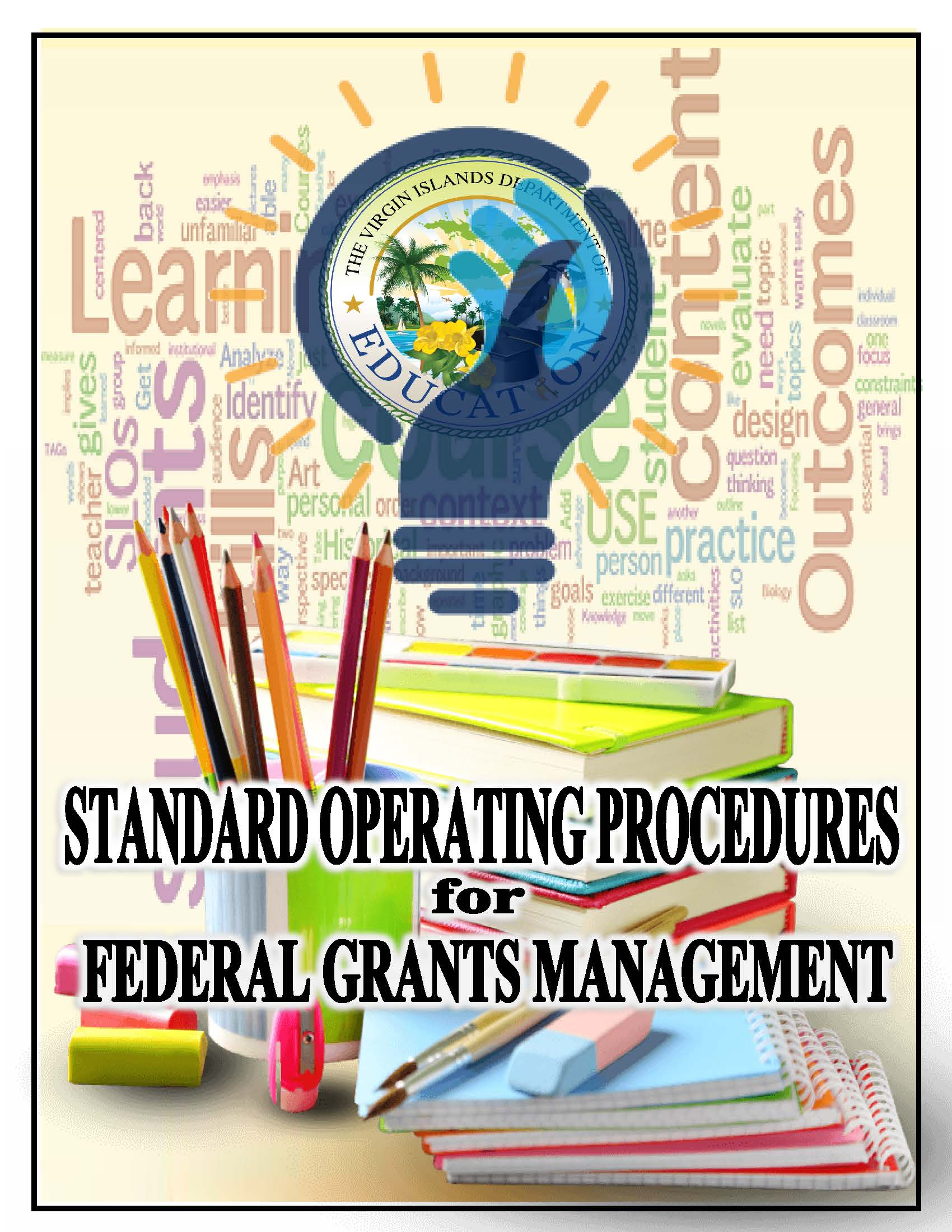 Standard Operating Procedures for Federal Grants Management Cover.pdf.jpg